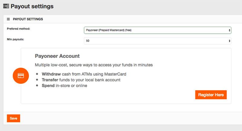 payoneer prepaid mastercard-webclicks