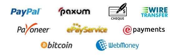 WebClick Payout Methods